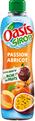 Bouteille de sirop Oasis Passion Abricot